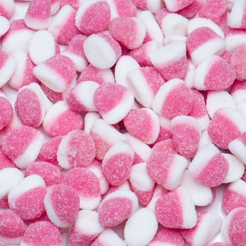 Mini besitos azúcar rojos (250 grs)