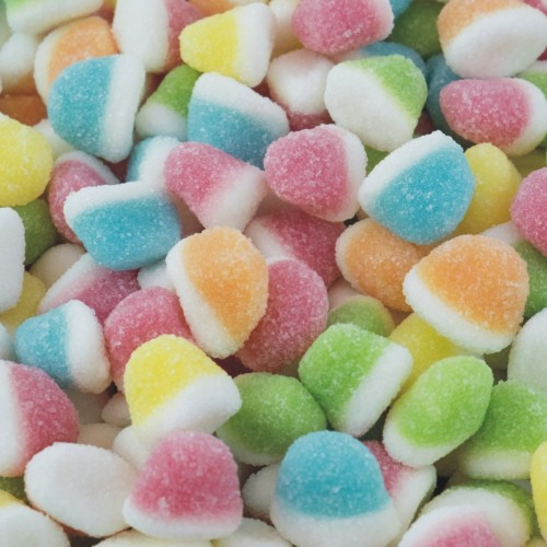 Mini besitos surtidos de azúcar (250 grs)