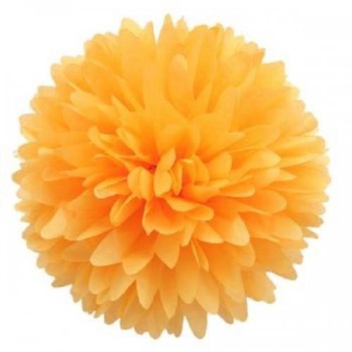 Pompón Naranja grande (1ud)