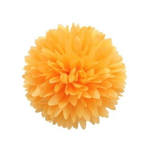 Pompón Naranja pequeño (1ud)