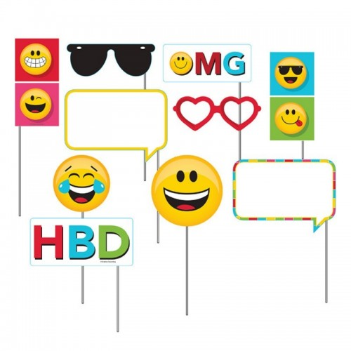 Photocall Emoji Colors (10 uds)