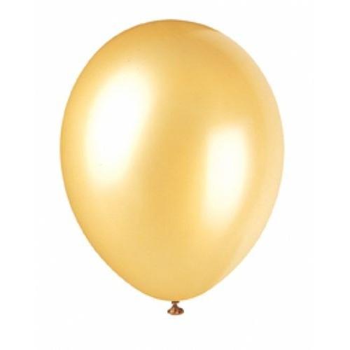 Globo Oro Perlado (1 ud)