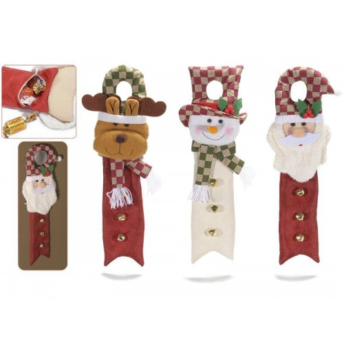 Cuelga Puerta Papa Noel (1ud)