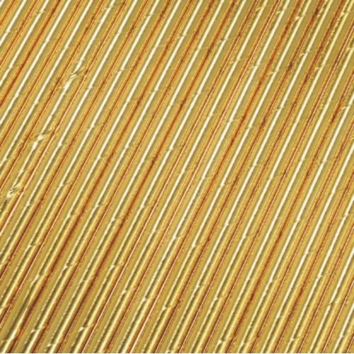 Pajitas oro brillo (25 uds)