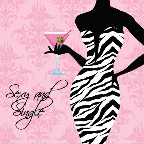 Servilletas Sexy and Single pequeñas (16 uds)