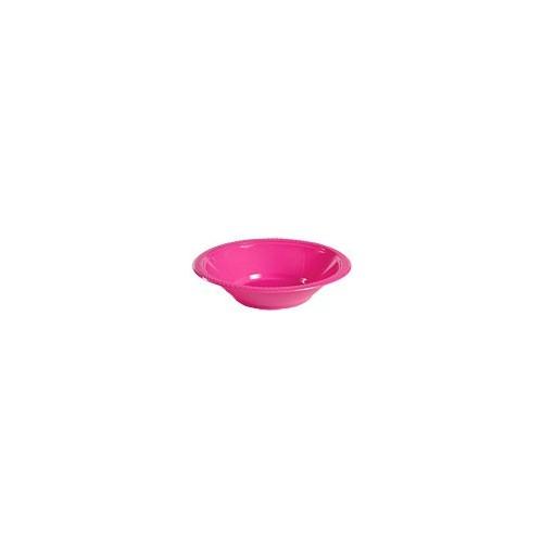 Bol de Plástico Color Fucsia (10 uds)