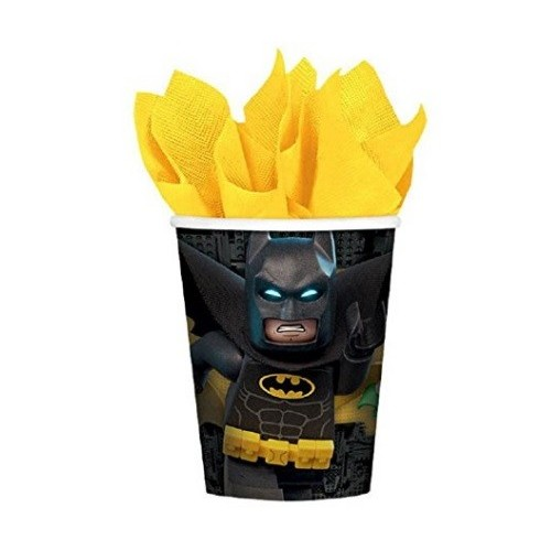 Vasos Lego Batman 250ml (8 uds)