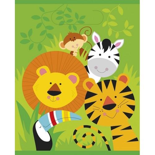 Bolsas sorpresa Animales de la Selva (8 uds)