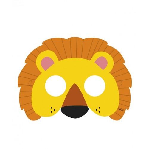 Mascaras Animales de la Selva (8 uds)