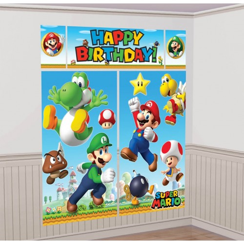 Panel pared Super Mario Bros (1 ud)