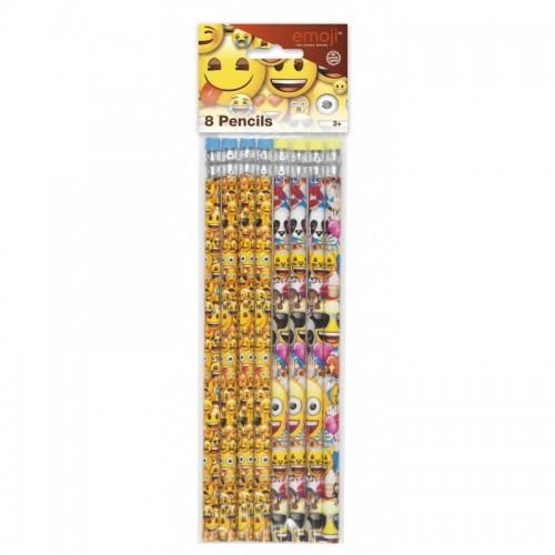 Lápices Emoji (8 uds)