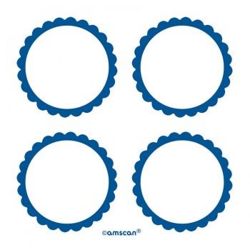 Etiquetas Adhesivas Azul Marino (20 uds)