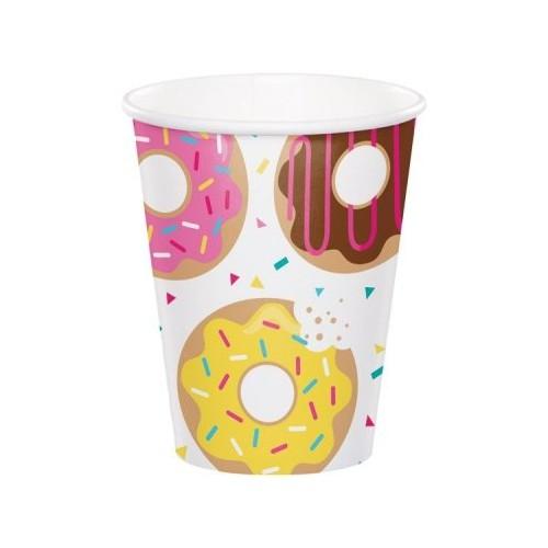 Vasos Donuts (8 uds)