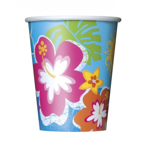 Vasos Hula Beach 266 ml (8 uds)