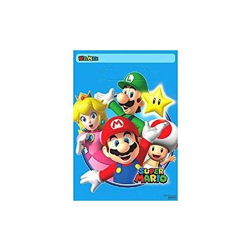 Bolsas Sorpresa Super Mario Bros (8 uds)