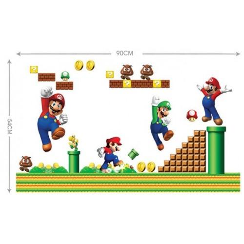 Decorado Pared Super Mario Bros (1 ud)