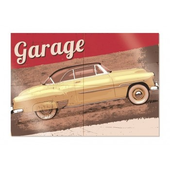 Panel garage route 66 (1 ud)