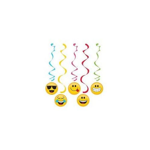 Decoración colgante Emoji Colors (1 ud)