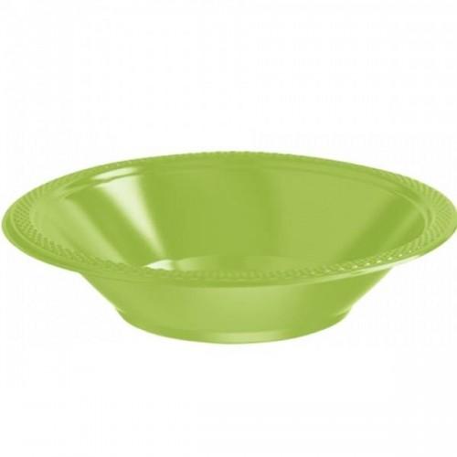 Bol de Plástico Color Verde claro (10 uds)