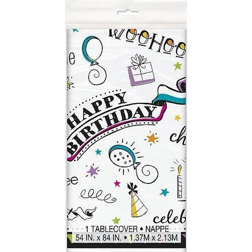 Mantel Doodle Birthday (1 ud)
