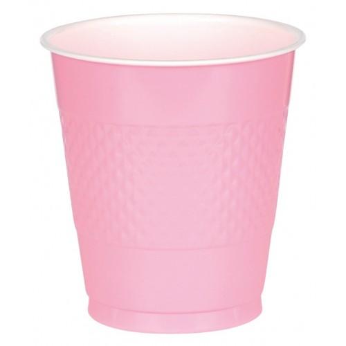 Vasos Plástico Rosa 355 ml (10 uds)