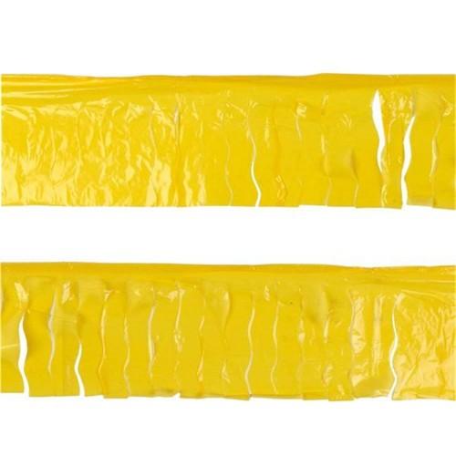 Guirnalda Amarilla Flecos Plástico (1 ud)