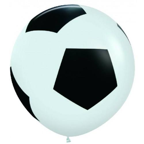 Globo Gigante Balón Fútbol 90 cm (1 ud)