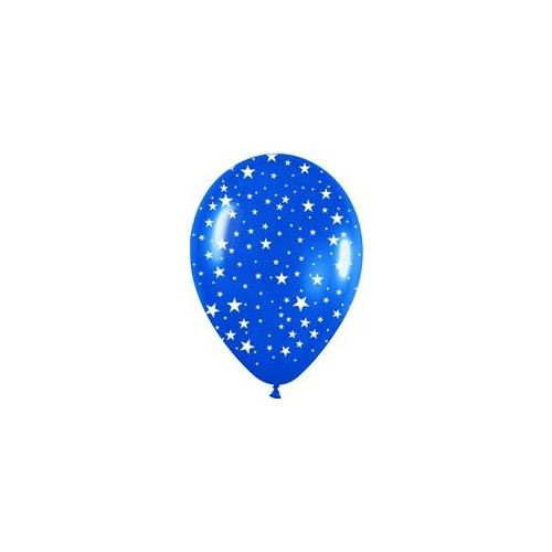 Globos estrellas multicolor pequeños (10 uds)