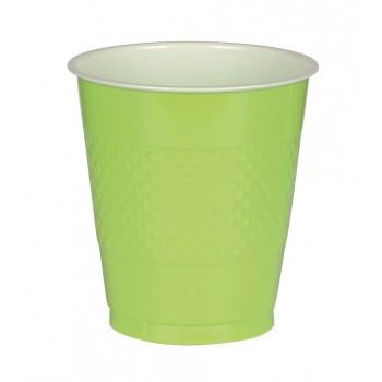 Vasos Plástico Verde Claro 355 ml (10 uds)