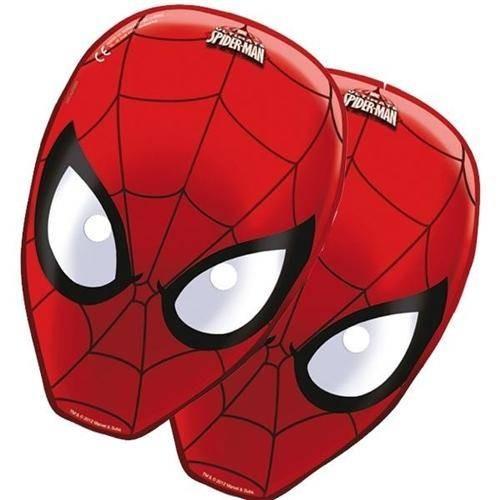 Mascara Spiderman (6 uds)