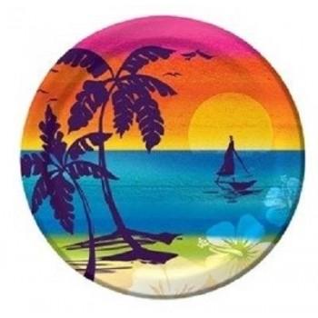 Platos 18cm Aloha Summer (8 uds)