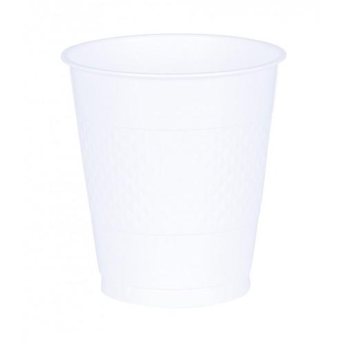 Vasos Plástico Blanco 355 ml (10 uds)