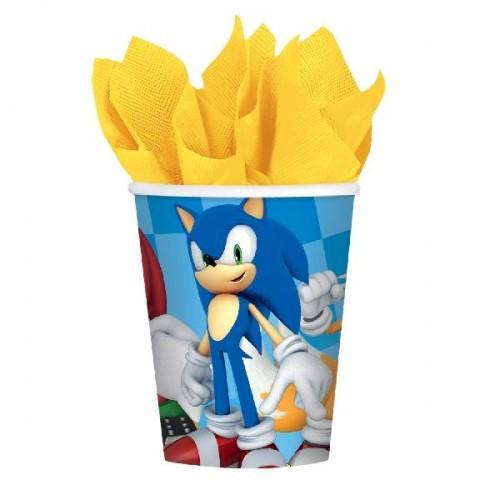 Vasos Sonic 250 ml (8 uds)