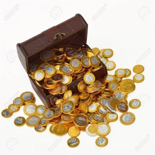 Monedas de Chocolate Euro (30 uds)