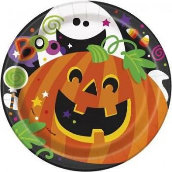 "'Platos ""Happy Halloween"" 18 cm (8 uds)"