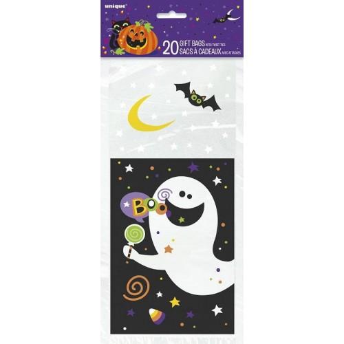 "Bolsas para chuches ""Happy Halloween"" (20 uds)"