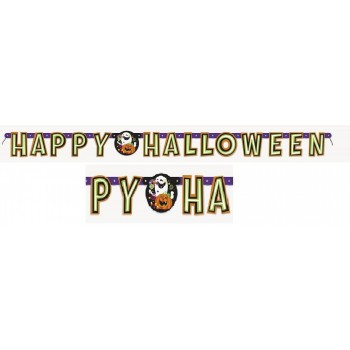 "Guirnalda ""Happy Halloween"" (1 ud)"