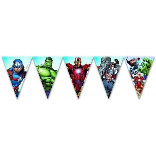 Banderín Los Vengadores N. (1 ud)