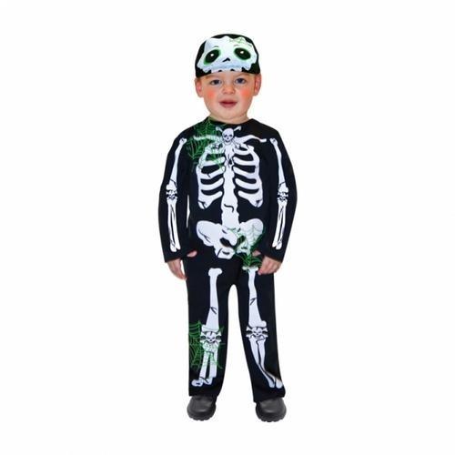 'Disfraz de esqueleto para niños (2-3 años)
