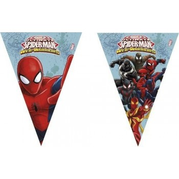 Banderín Spiderman
