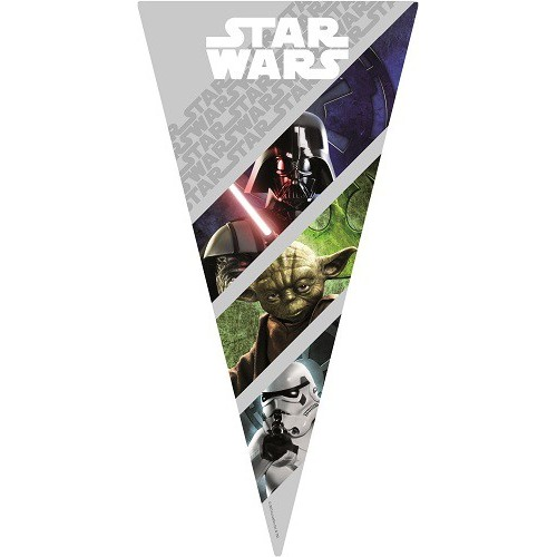 Bolsa Triangular Star Wars (10 uds)