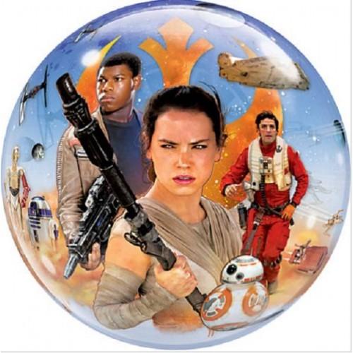 Globo Star Wars Burbuja Grande (1 ud)
