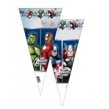Bolsas Triangulares Los Vengadores (10 uds)