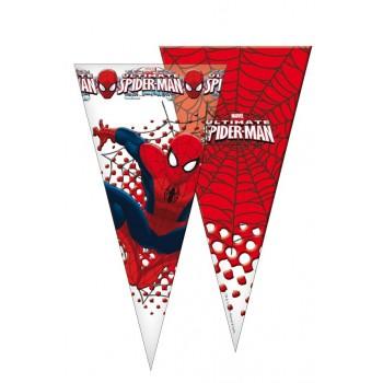 Bolsas Triangulares Spiderman Ultimate (10 uds)