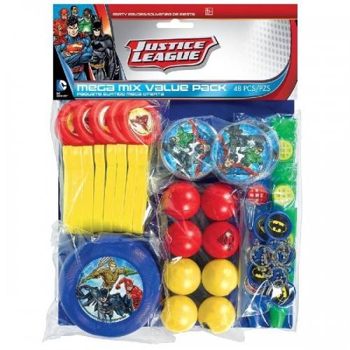 Set juguetes surtidos la Liga de la Justicia (48 uds)