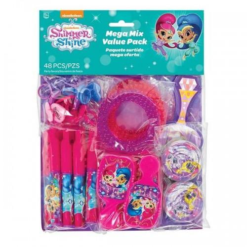 Set juguetes surtidos Shimmer & Shine (48 uds)