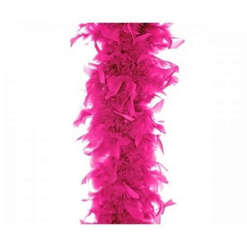 Boa de pluma pink (1 ud)