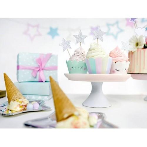 Kit cupcakes Unicornio (6 uds)
