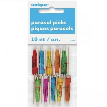 Picks Parasol (10 uds)