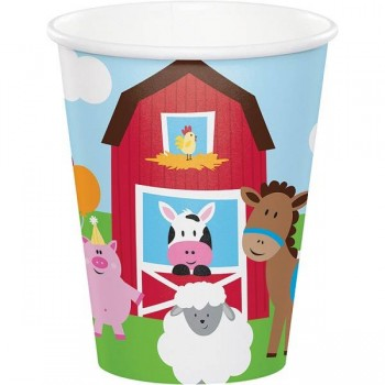 Vasos 250 ml Farmhouse Fun (8 uds)